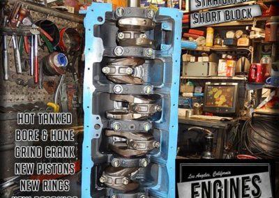 Rebuilt Datsun 280Z Short Block