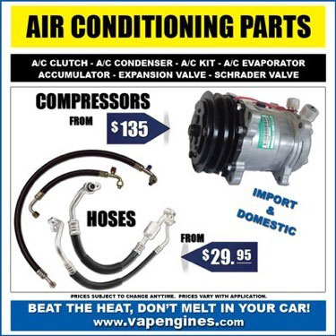 Car air conditioner parts store