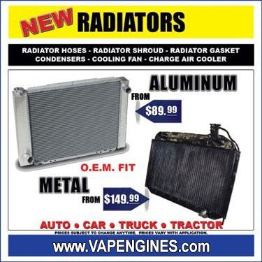 Car radiator store