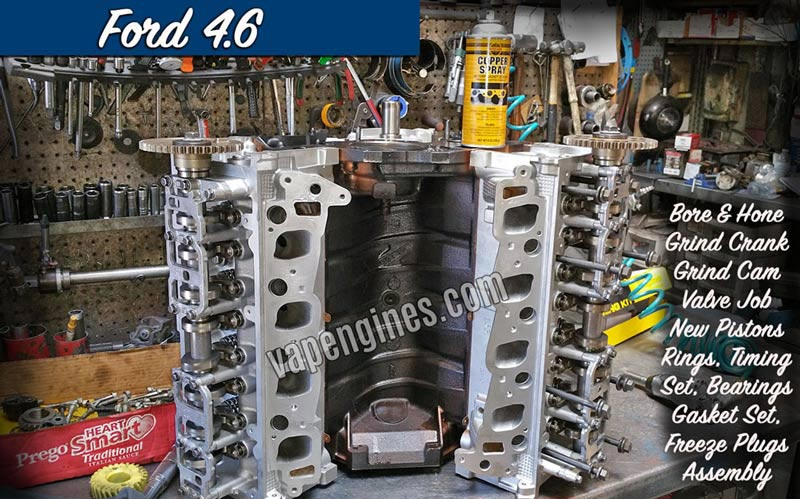 Ford 4.6 Engine Rebuild Photo