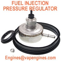 Fuel injection pressure regulator parts