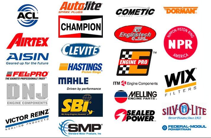 Auto Parts Brands