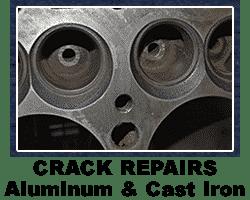 Cylinder head crack repair