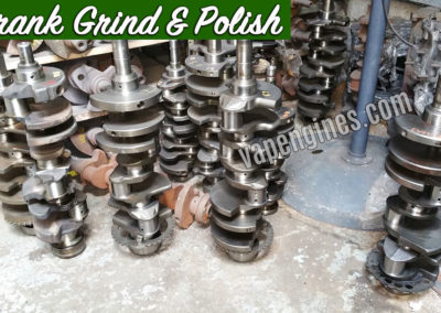 Crankshaft grind and polish shop
