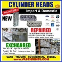 Buy cylinder Heads- New, Reman, or Exchange