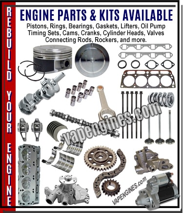 Engine Auto Parts store for rebuilders