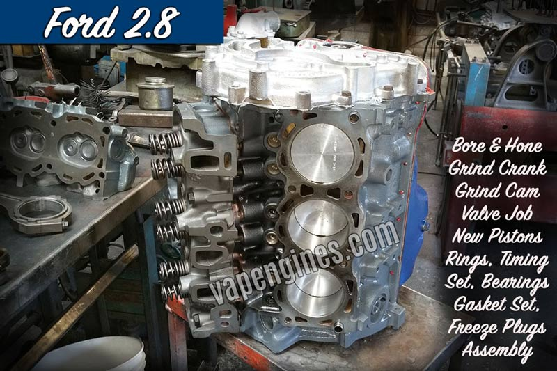 Ford 2 8 Engine Rebuild Machine Shop Engine Builder Auto