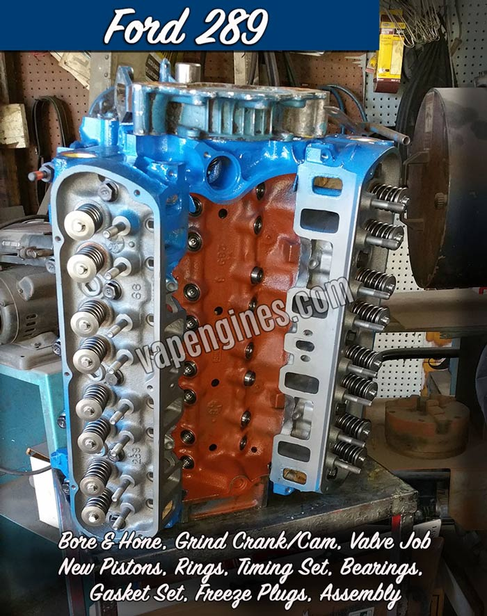 Ford Lincoln Engine Builder Gallery | Valley Auto Parts and