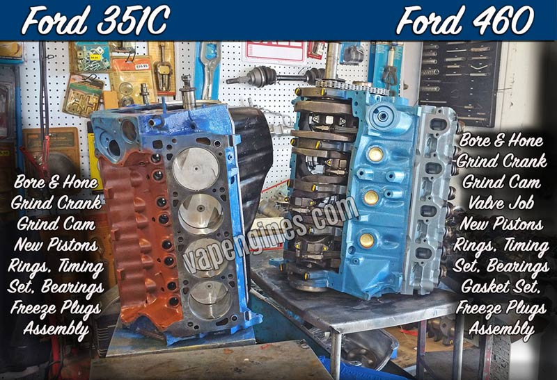 Ford Engine Rebuilding Machine Shop Engine Builder Auto