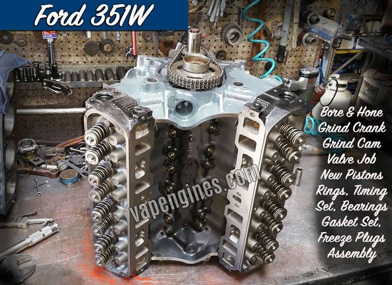 Ford 351w Engine Rebuild Machine Shop Engine Builder
