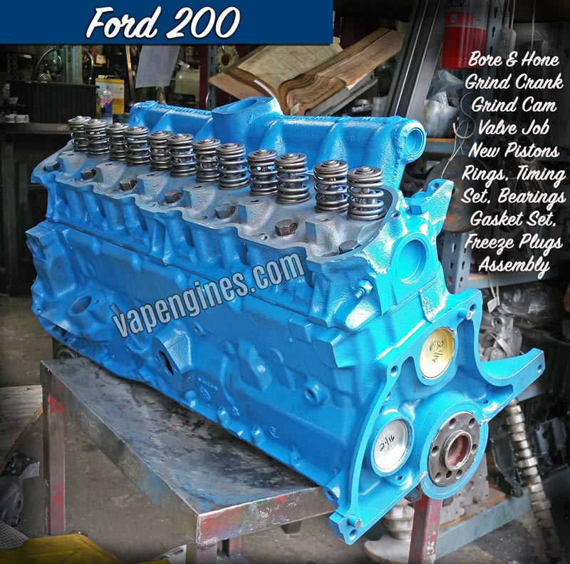 ford 4.6 engine builders