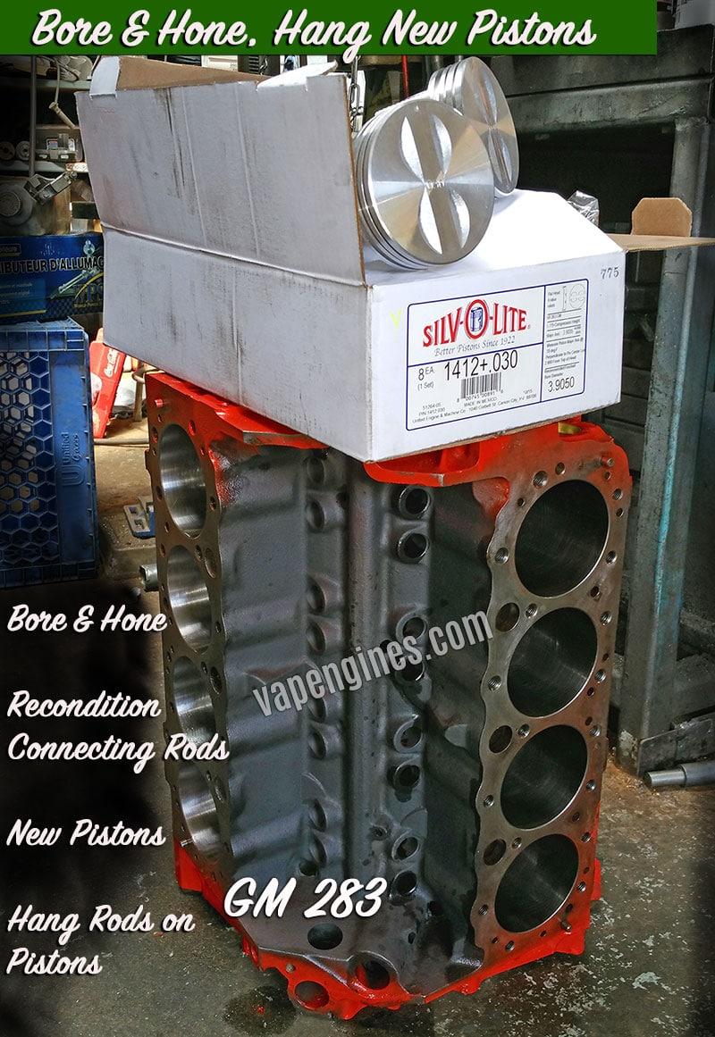 Machine Shop Work Gallery- Engine Builder Shop Photos