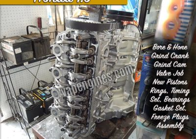 Honda 1.6 Engine Rebuild machine shop
