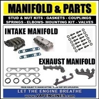 Intake and exhaust manifold parts
