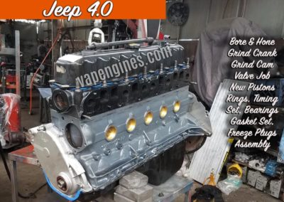 Rebuilt Jeep 4.0 Long Block Engine