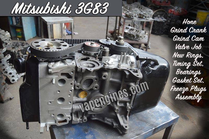 Mitsubishi Engine Rebuild Photo