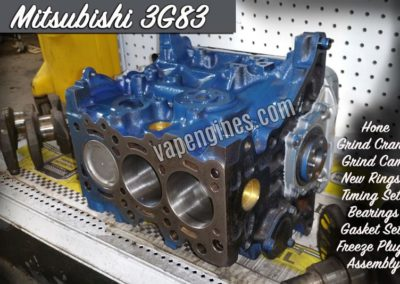Mitsubishi 3G83 Engine Short Block