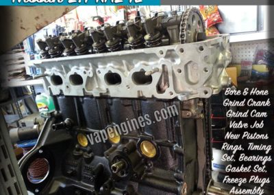 Nissan 2.4 KA24E Engine Rebuild Machine Shop