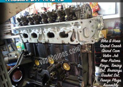 Nissan 2.4 KA24E Engine Rebuild