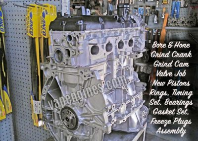 Nissan 2.5 QR25DE Engine Rebuild Machine Shop