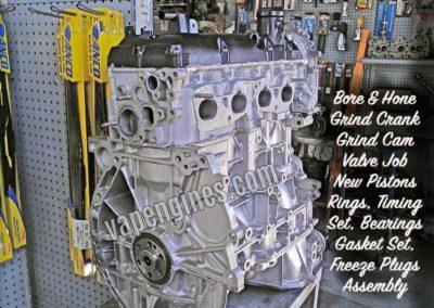 Nissan 2.5 QR25DE 6N2 engine rebuild