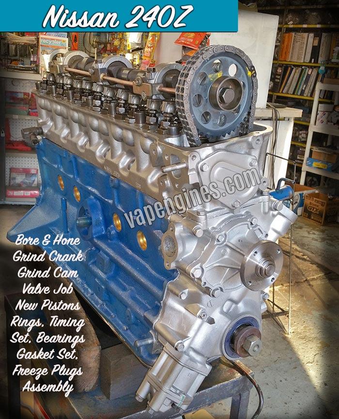 Nissan 240z Engine Rebuild Machine Shop Engine Builder