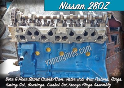 Nissan 280Z Engine Rebuild Machine Shop
