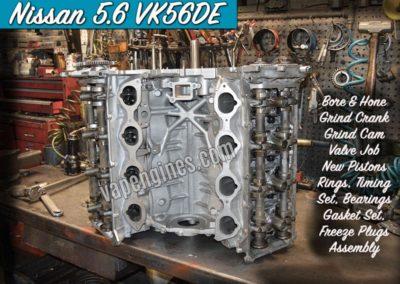 Nissan 5.6 VK56DE Engine Rebuild