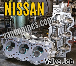 Nissan Valve Job repair shop