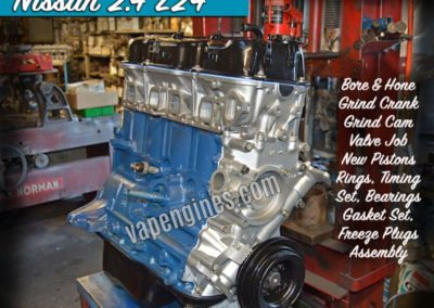 Nissan Z24 2.4 Engine Rebuild Machine Shop