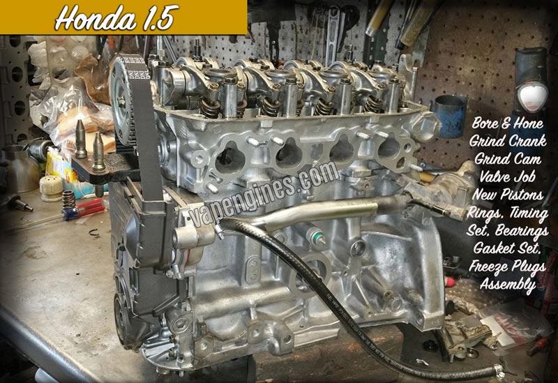 Engine Rebuild Shops Near Me >> Honda Engine Gallery Engine Builder Machine Shop Honda Parts