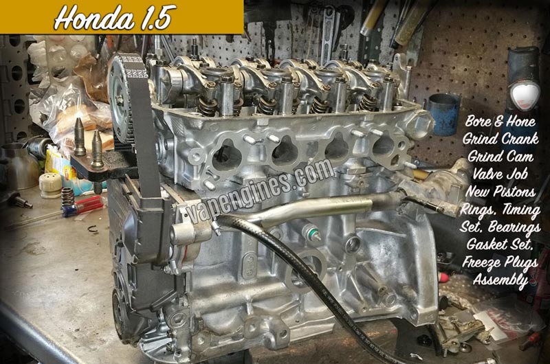 Honda engine Photo Gallery