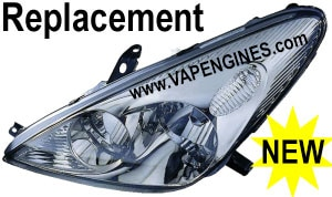 Buy replacement auto head lamp lights