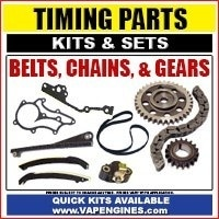 Timing parts and sets for engine rebuilding