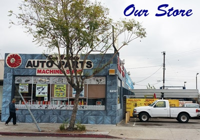Valley Auto Parts and Engines store front street