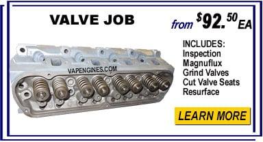Cylinder head Valve Jobs