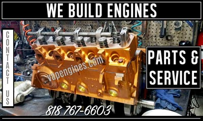 Engine Builder and Auto Parts Store in Los Angeles- Contact us