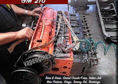 GM 216 Engine Rebuilding