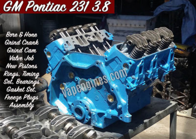 GM Pontiac 231 3.8 V6 Engine Rebuild