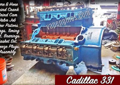 Cadillac 331 Engine Rebuilding