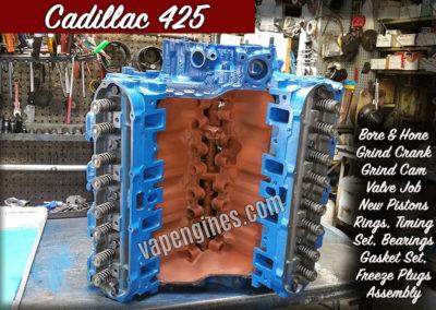 Cadillac 425 Engine Rebuilding