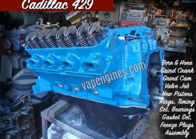 Cadillac 429 Engine Rebuild