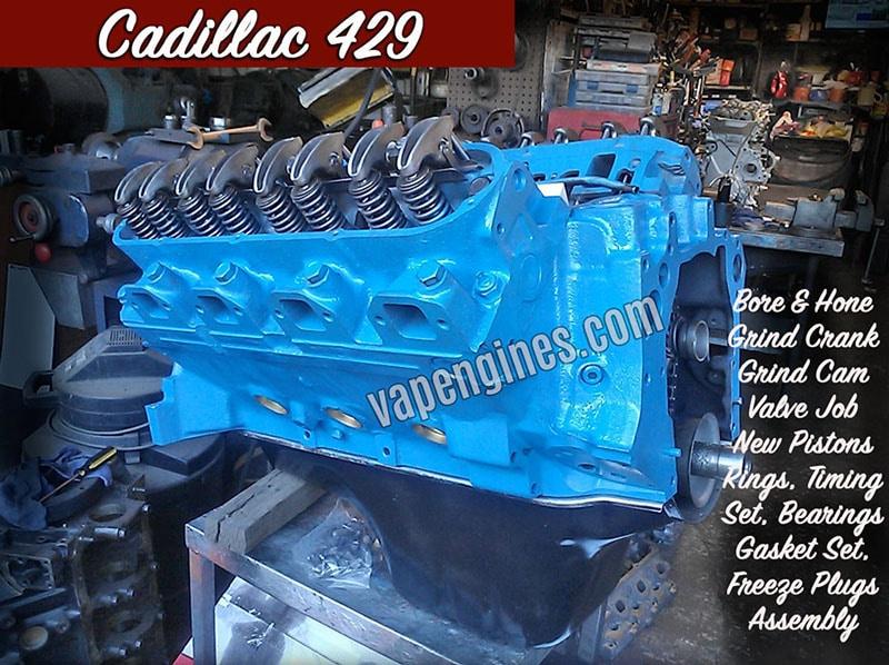 Cadillac Engine Rebuild Machine Shop on Rebuilt Chevy 6 Cylinder Engines