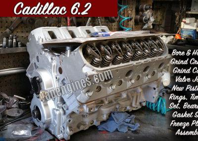 Cadillac 6.2 Engine Rebuilding