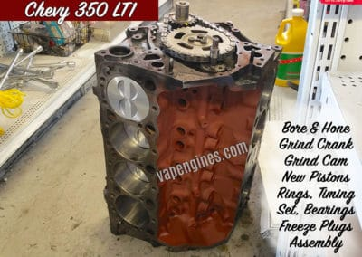Chevy 350 LT1 short block rebuild