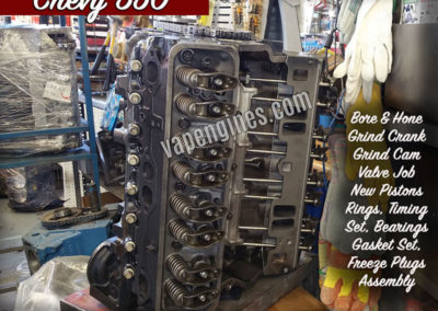 Chevy 350 Engine Rebuild