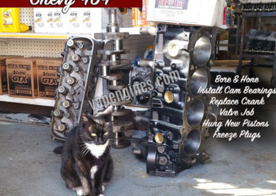 Chevy GM 454 Engine Rebuild Machine Services
