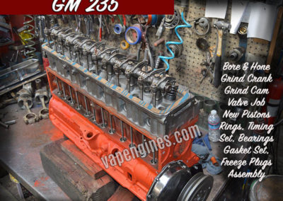 GM 235 Engine Rebuild