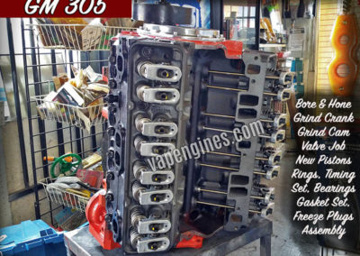 Chevy GM 305 Engine Rebuild