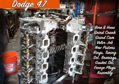 Chrysler Dodge 4.7 Engine Rebuild Shop